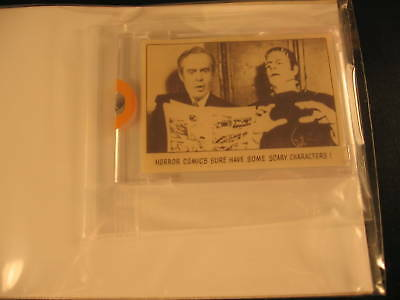 1973 Topps Creature Feature Paper Proof #103