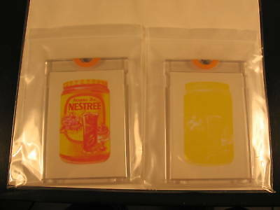 1973 Topps Wacky Packages Series 4 Proofs (2) Nestree