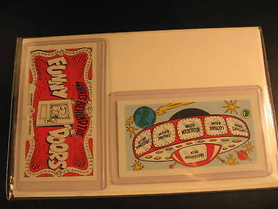 1970 Topps Funny Doors (2) Proof Cards #10