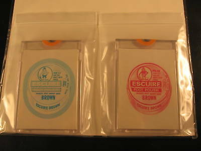 1973 Topps Wacky Packages Series 4 (2) Proof Escuire