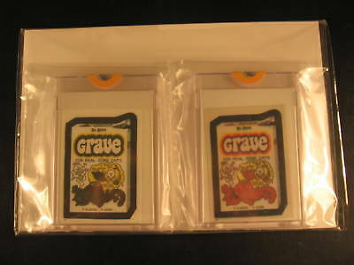 1986 Topps Wacky Packages Album (2) Proof Set #77