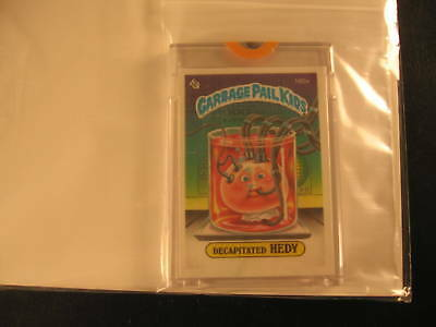 1985 Topps Garbage Pail Kids Series 4 Proof #160A
