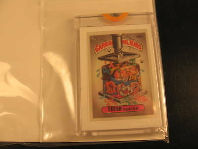 1986 Topps Garbage Pail Kids Mini Proof #163A