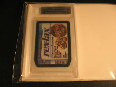 2007 Topps Wacky Packages ANS5 Proof #26 BGS 1/1