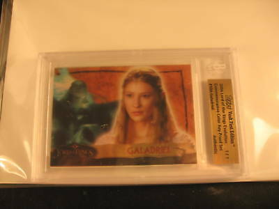 2006 Topps Vault Lord of the Rings Proof #10A 1/1 BGS