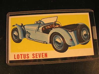 1961 Topps Sports Cars Original  PROOF Card Lotus Seven