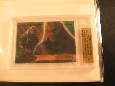 2006 Topps Vault Lord of the Rings Proof #45 BGS 1/1