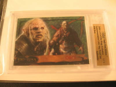2006 Topps Vault Lord of the Rings Proof #58 BGS 1/1