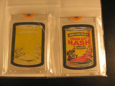1973 Topps Wacky Packages Series 1 (2) Proof Breadcrust