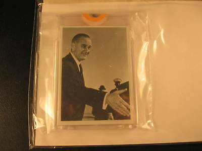 1964 Topps Johnson vs Goldwater Proof Card #8A