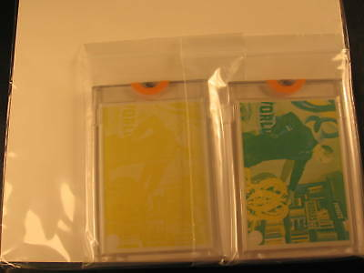 1966 Topps Batman Color Photos (2) Proof Card Set #40