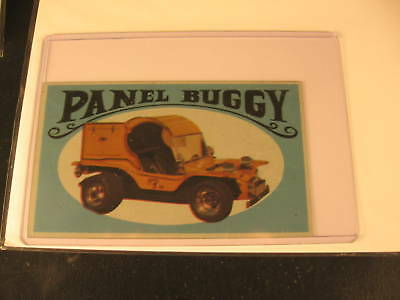 1970 Topps Way Out Wheels Original Proof Panel Buggy