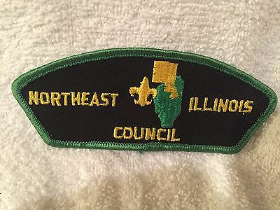 Boy Scouts -older Northeast Illinois Council, gauze backside csp