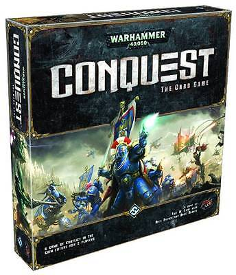 WARHAMMER 40K CONQUEST CARD GAME CORE SET NEW IN SEALED BOX #smar16-16