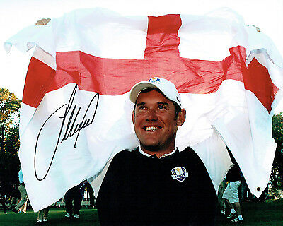 Lee WESTWOOD SIGNED AUTOGRAPH 10x8 Golf Photo AFTAL COA Ryder Cup Winner