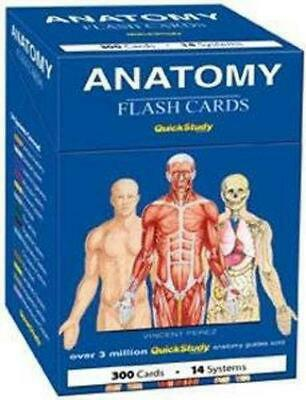 Anatomy Flash Cards by Vincent Perez (English)