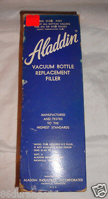Vintage Aladdin Thermos Vacuum Bottle Replacement Filler Nos 70A