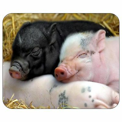 Happy Baby Pigs Mousepad Mouse Pad Mat