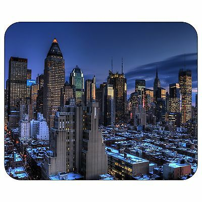 New York Dusk Mousepad Mouse Pad Mat