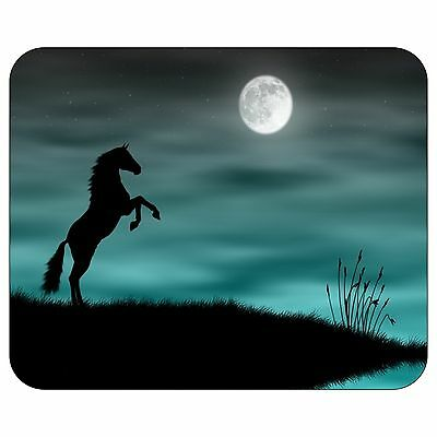 Horse And Moon Mousepad Mouse Pad Mat