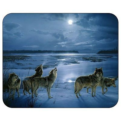 A Cold Winter Night Mousepad Mouse Pad Mat
