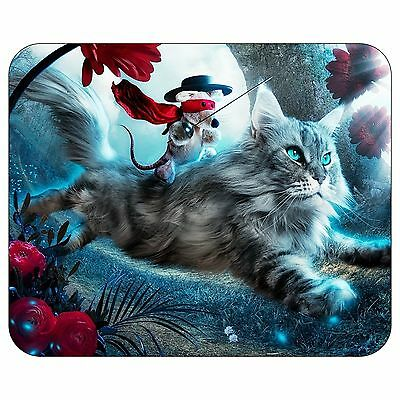 The Cat And The Mouse Mousepad Mouse Pad Mat