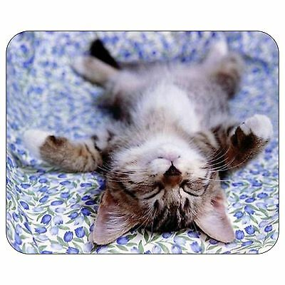 Cat Flaked Out Mousepad Mouse Pad Mat