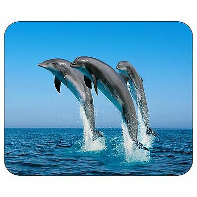 Jumping Bottlenose Dolphins Mousepad Mouse Pad Mat