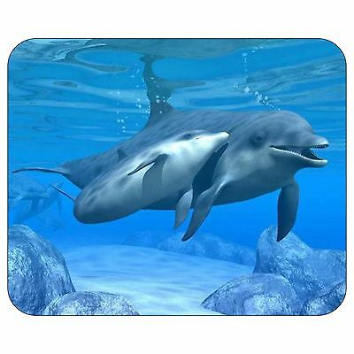 Underwater Dolphin Mouse Pad Mat Diving Dive Cute Gift Computer PC Gift #8101