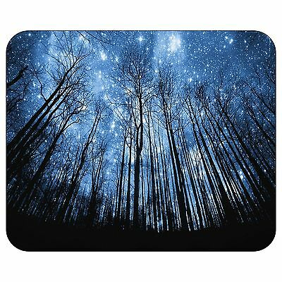 Starry Night Over The Forest Mousepad Mouse Pad Mat