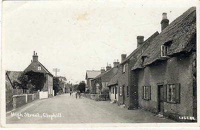 Bedfordshire.clophill High Street. Rp. Unposted. Single. Standard.