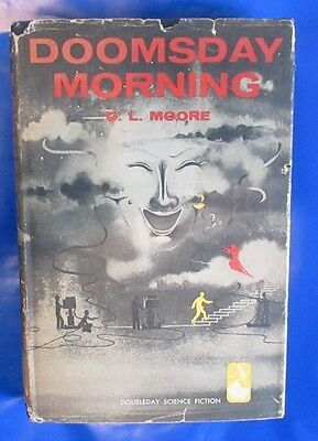1957 DOOMSDAY MORNING by C.L. Moore Doubleday HC/DJ VG+