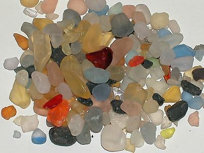 1pack bag dollhouse miniature sea ocean glass pebbles KIT for globe bottle