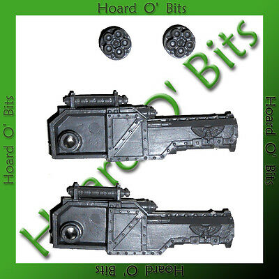 WARHAMMER 40K BITS VENGEANCE WEAPON BATTERY - 2x PUNISHER GATLING CANNON