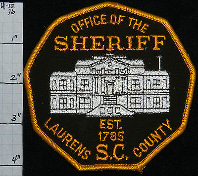South Carolina, Laurens County Sheriff Office Patch