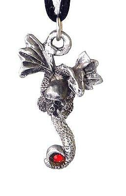 """The Prize"" Dragon Pendant - Pewter"