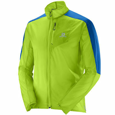 Salomon Fast Wing Jkt Men's Running Jacket Tracksuit top Windproof Breathable