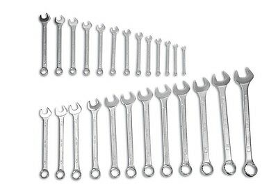 Laser 1329 Combination Spanner Wrench Set 6 - 33mm & Storage Holder