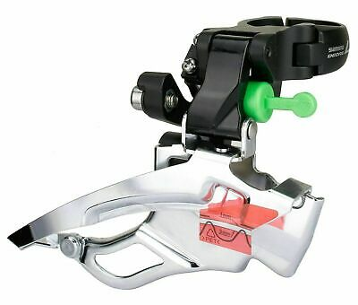Shimano Deore LX FD-T671 Down-Swing Bike Bicycle Front Derailleur 3x10 34.9mm