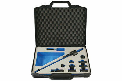 Diesel Injector Extractor Tool Kit With Adaptors 5/8 Thread + Dvd Instructions