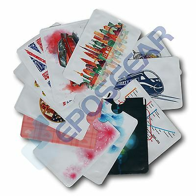 Card Minder RFID Blocking Contactless Credit Debit Protection Sleeve Wallet