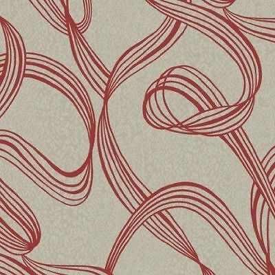 Decorline Ribbon Swirl Wallpaper - DL30638
