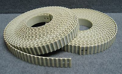 Qty 2 - Polyurethane Timing Belts - Each Approximately 26Ft