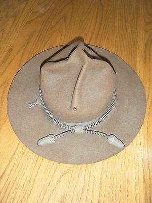 Campaign Hat with Line Officer cord  - Original