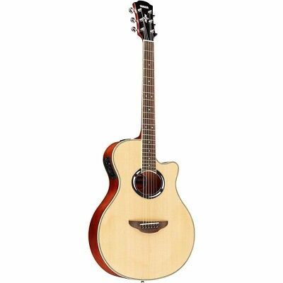 Yamaha APX500III NA Thin Line Acoustic/Electric Cutaway Guitar, Natural