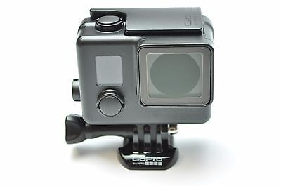 Genuine Gopro Blackout Case Cover Housing Waterproof HERO 4 HERO 3 HERO 3+