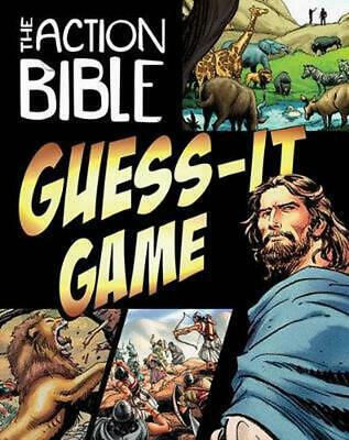 The Action Bible Guess-It Game by Sergio Cariello (English) Hardcover Book Free