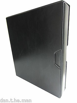 Black A4 Multi-Master Collectors Album/ Binder & Slipcase - Padded 4 Ring Binder