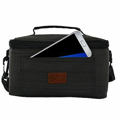 New Genuine Inventcase Grey Carrying Case Cover Pouch Bag For Samsung Gear Vr
