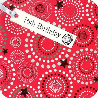 17th Birthday Hand-Finished Tag Tastic Card Greeting Cards By Yasmin